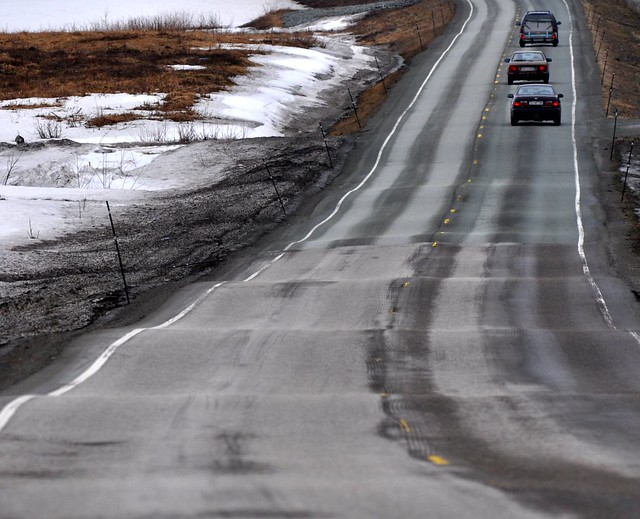 Frost Heave Telehiv Flickr Photo Sharing
