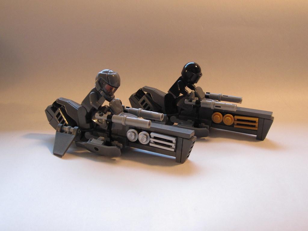 B 5g hawk speeder bikes star wars v bsg r k flickr - Bd lego star wars ...