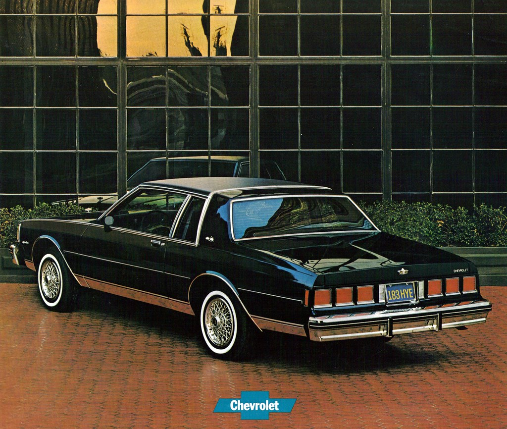1981 Chevrolet Caprice Coupe Coconv Flickr