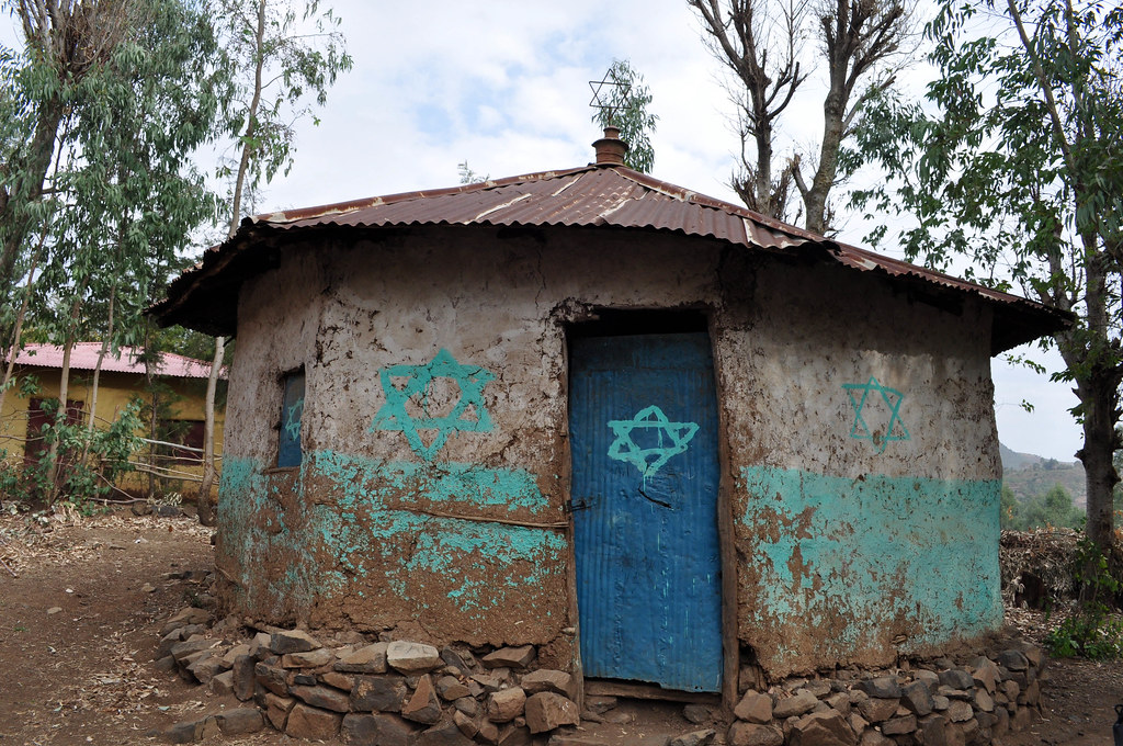 Synagogue in Woloka, Ethiopia