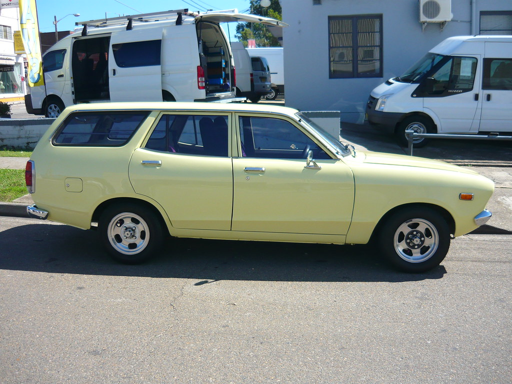 1976 Datsun 120y Station Wagon 1976 Datsun 120y Station