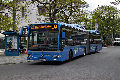 um in kürze die Endhaltestelle Marienplatz zu erreichen.