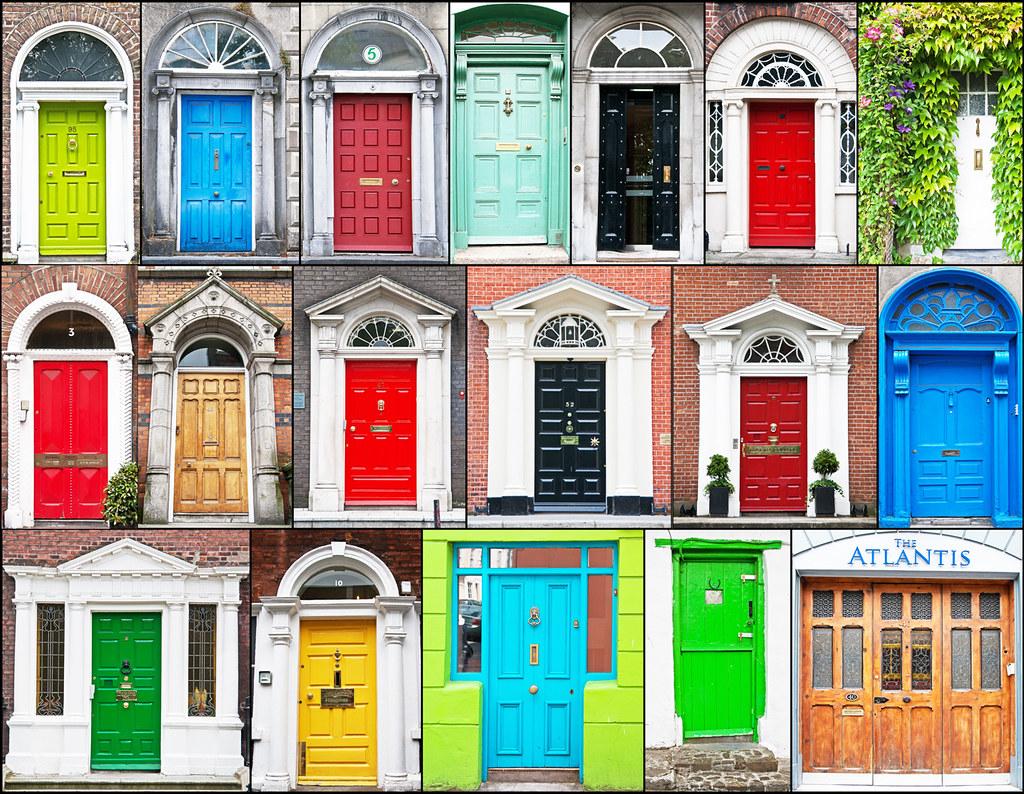 Irish Doors Mostly Dublin I Hope I Ve Balanced The