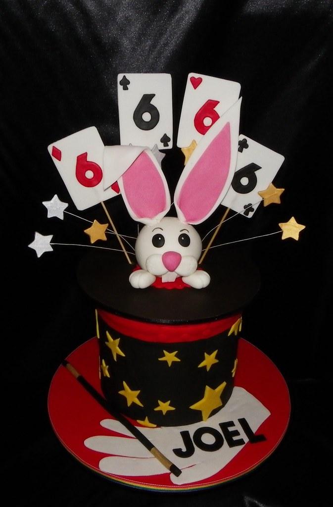 Magic Hat Rabbit Birthday Cake Emma Flickr