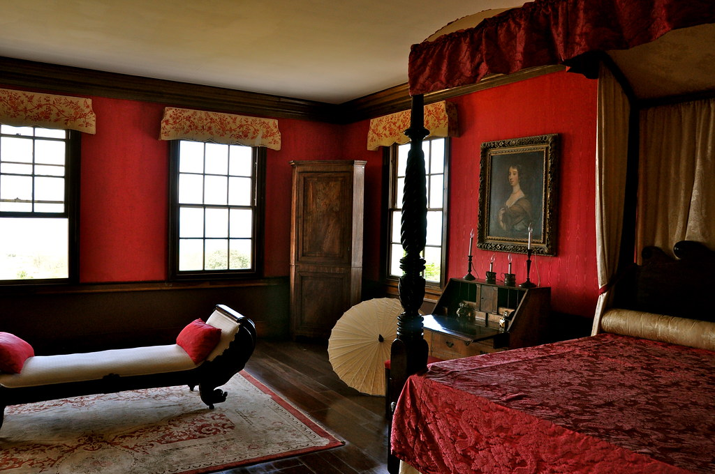 Annie Palmer S Bedroom The Great House Of Rose Hall Monte Flickr