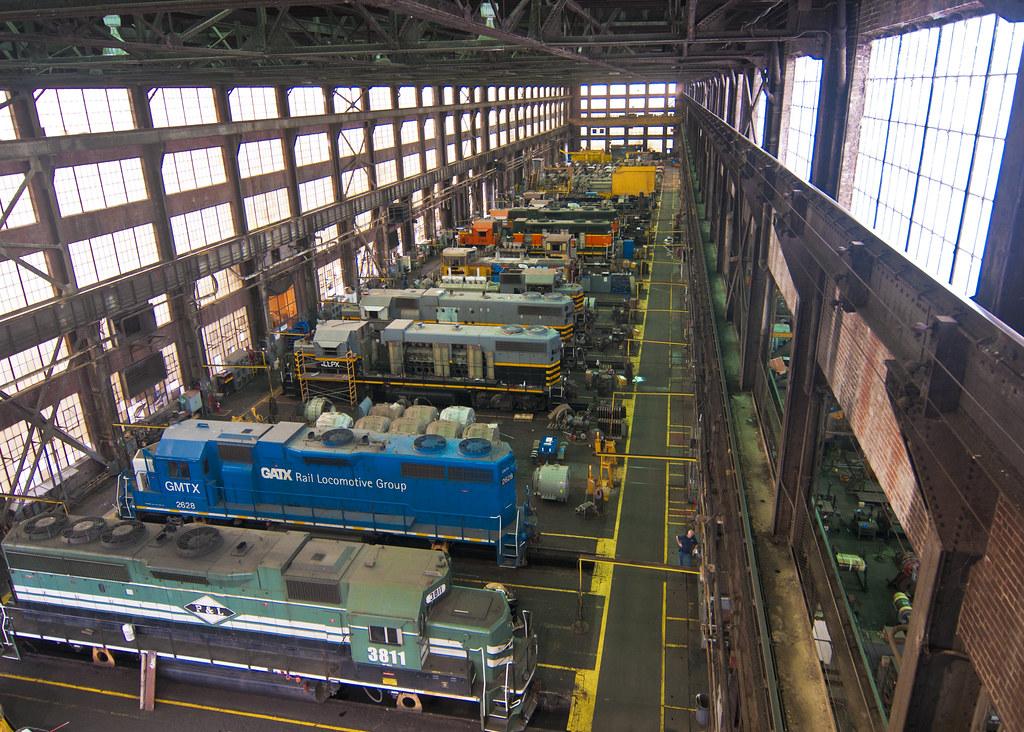 Paducahbuilt Locomotives In Progress At Vmv Jonathan