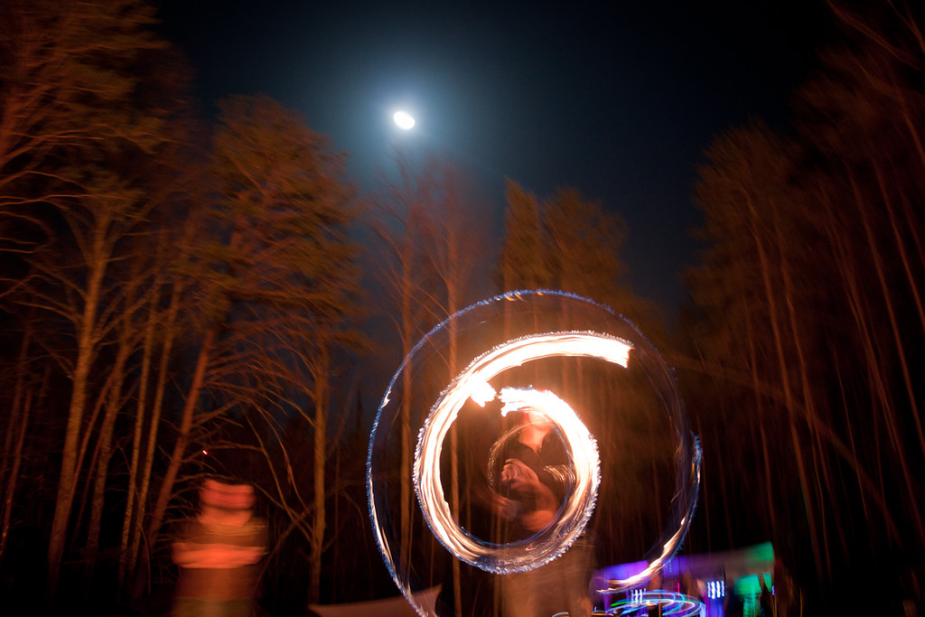 Full Moon Fire Fire Poi Full Moon