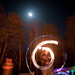 Fire Poi @ Full Moon Gathering