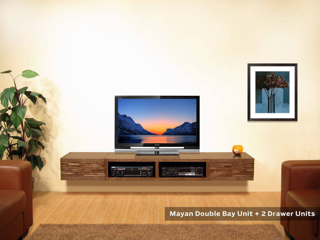 Minimalist TV Stand Wall Mounted - Mayan Units  Mayan units ...