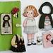 Fabric Paper Doll Gift Set - Ireland
