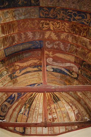 Peintures murales de la chapelle st baudel flickr for Peintures murales