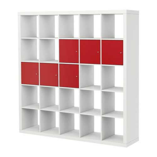 Ikea expedit bookcase 5 x 5 one for fabric not on the for Ikea expedit 2 x 1