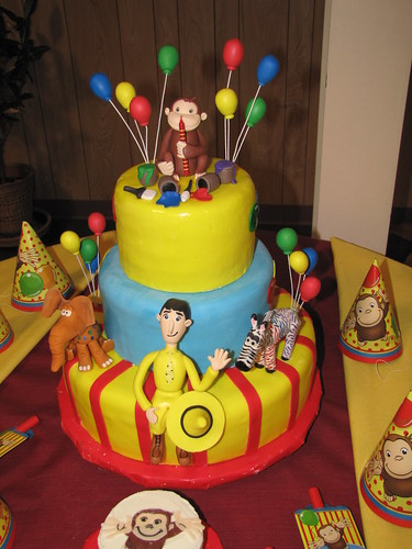 curious george birthday cake curious george cake flickr photo 3236