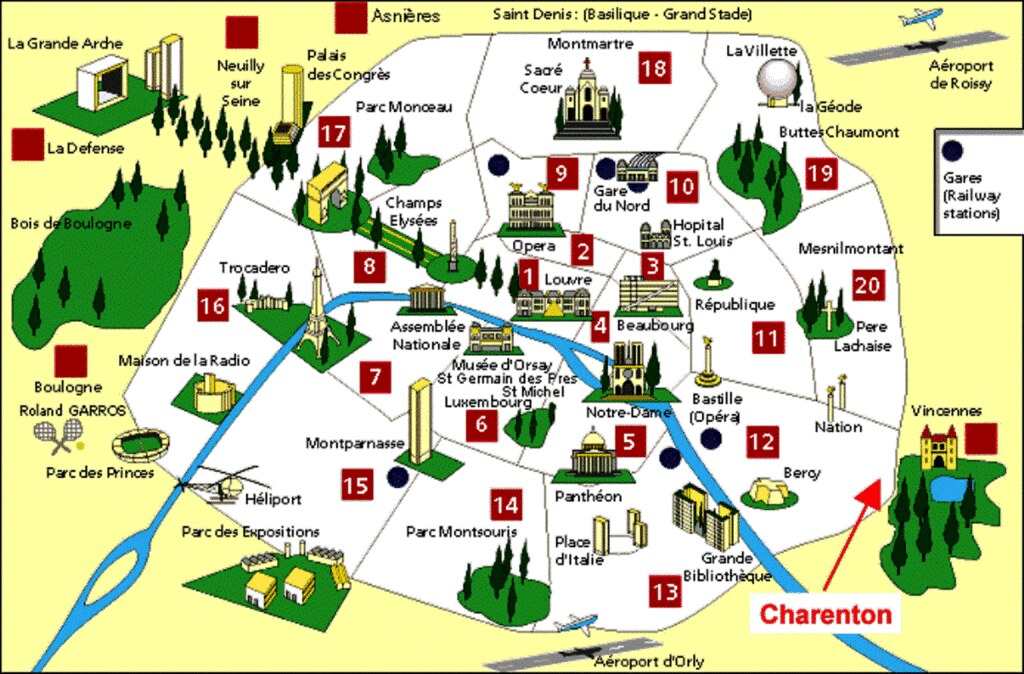 P00 Paris Monument Map Dany13 Flickr