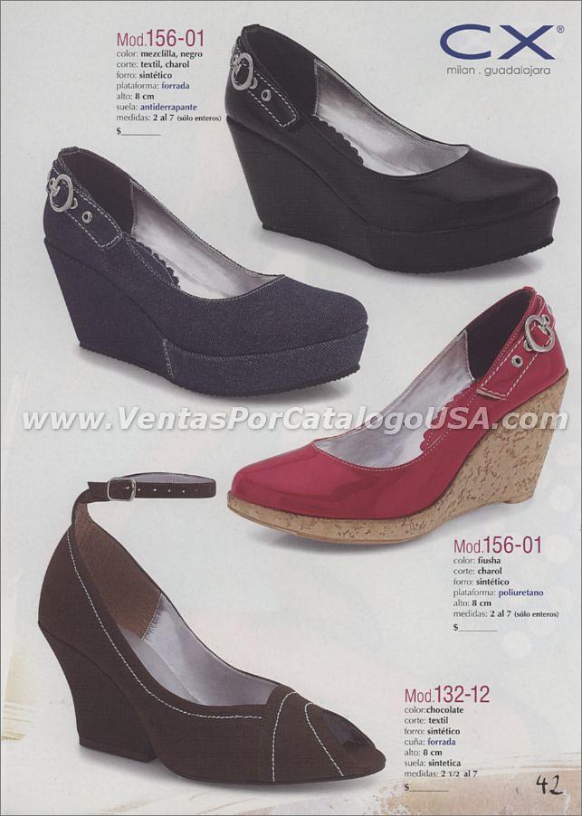 Calzado Para Mujer Con Plataforma 2011 Por Catalogo Shoes