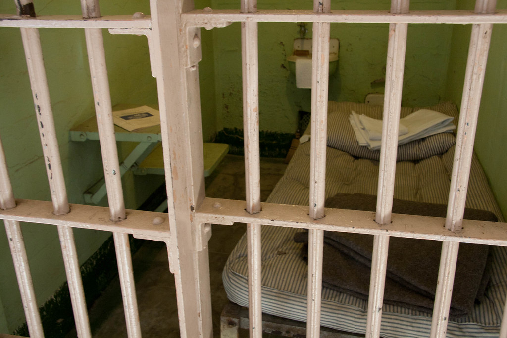 description of a cell in jail