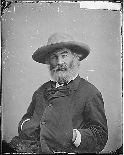 Walt Whitman, ca. 1860 - ca. 1865 | by The U.S. National Archives