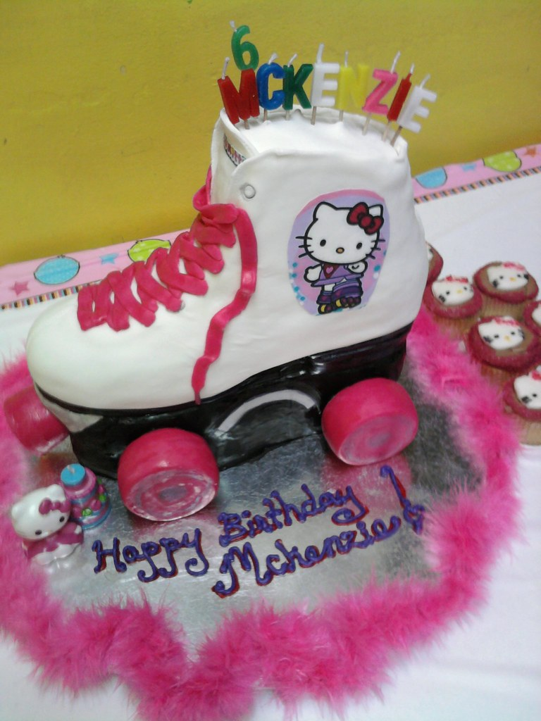 Roller Skate Cake Evelyn Jean Flickr