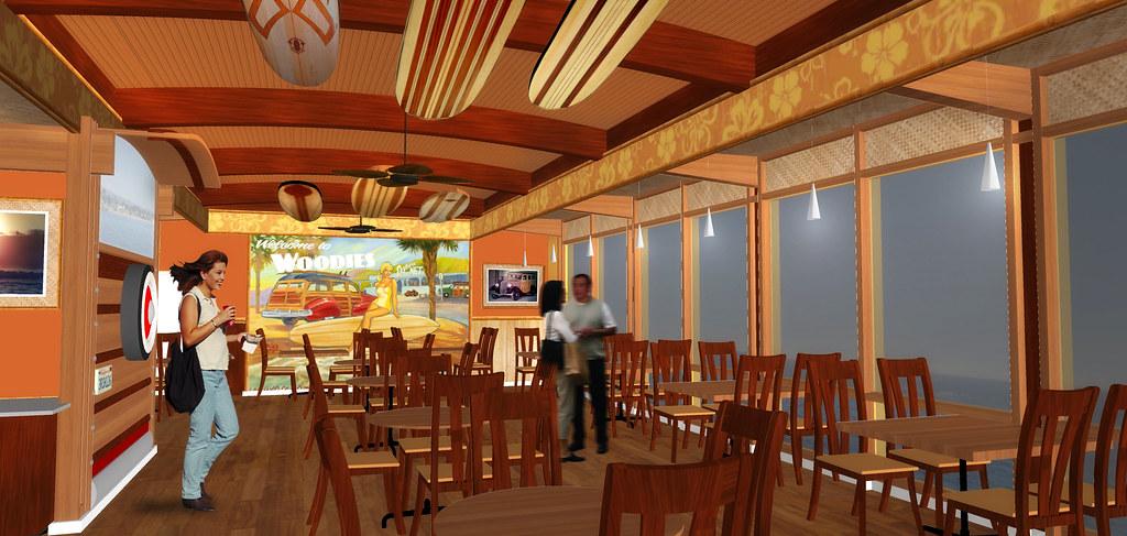 Interior Cafe Design | Restaurant on Wharf | Cafe Design R ...