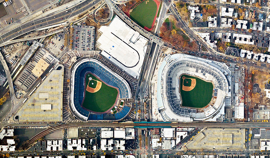 yankee stadium old vs new Yankee stadium yankee stadium, located at 161st street in the bronx, is home to the legendary new york yankees baseball team it is easily accessible by two subway lines that can be reached from all parts of the city and across the region.