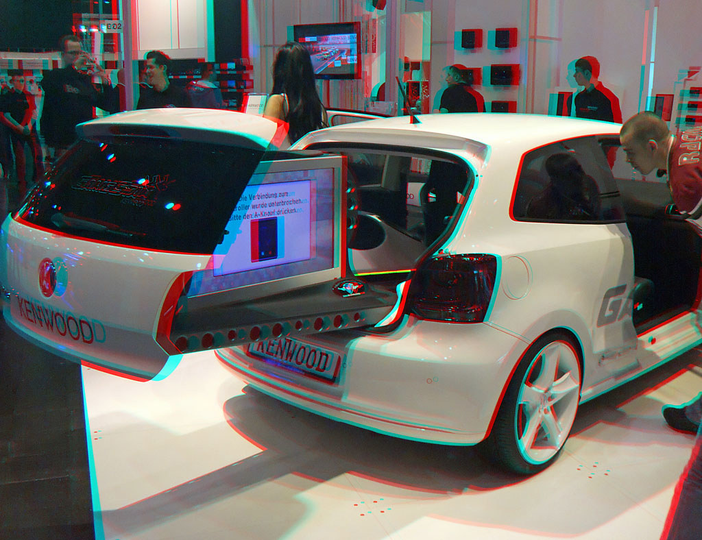 3d red cyan anaglyph ami style 2011 vw golf vi tuning k flickr. Black Bedroom Furniture Sets. Home Design Ideas