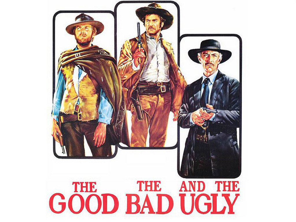 a theme of the good the bad and the ugly in three different books The dark tower series is a series of eight books and one and the good, the bad and the ugly as influences that the dark tower ii: the drawing of the three.