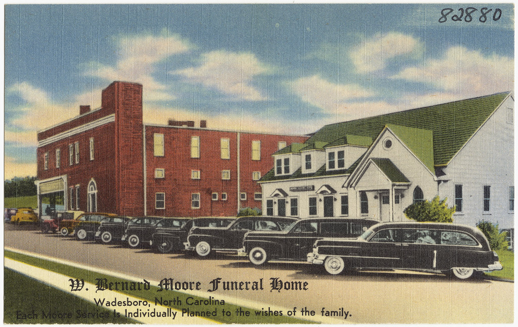 Moore Funeral Home Arlington