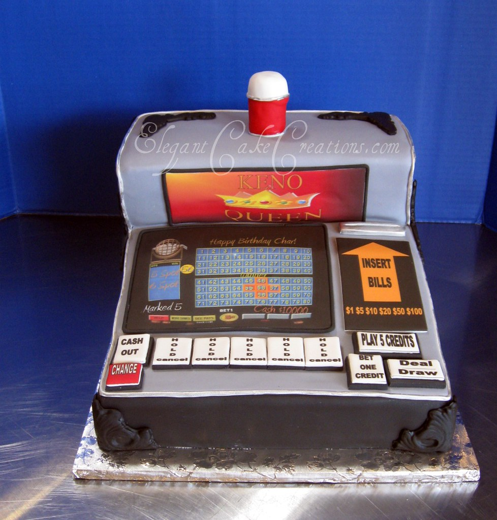 Keno Machine Cake This Cake Was Ordered By A Man For His