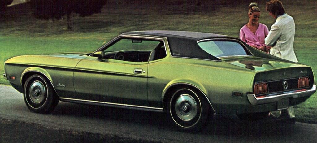 1972 Ford Mustang Grande Hardtop Coconv Flickr