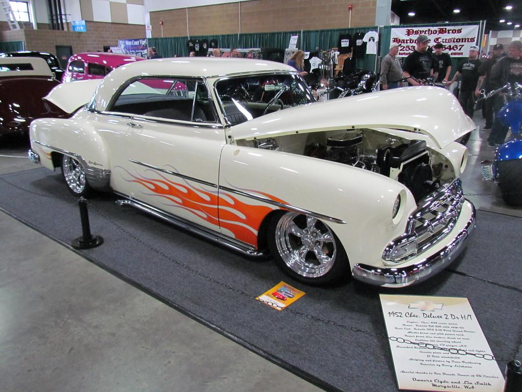 1952 chevrolet 2 door hardtop owner clyde smith for 1952 chevy two door hardtop