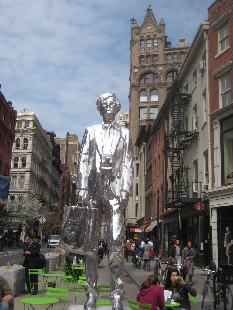 Designer Eyeglass Frames Pittsburgh Pa : Andy Warhol Monument Silvery Statue 6674 Andy Warhol ...
