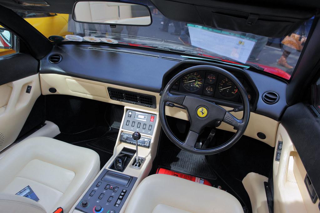 ferrari mondial qv cabriolet pininfarina interior dash flickr. Black Bedroom Furniture Sets. Home Design Ideas