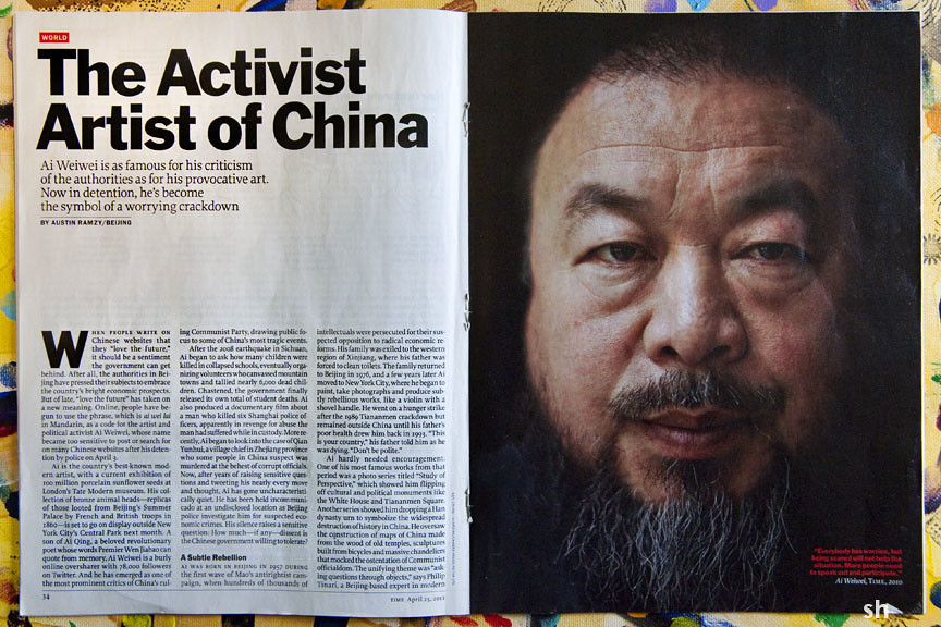 Time Magazine article April 25, 2011 | 11-Apr_2248-72 Time ...
