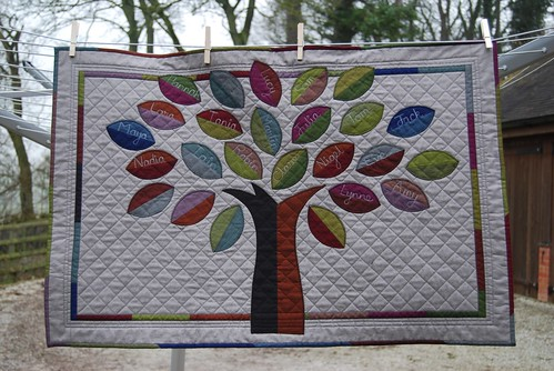 Family Tree Quilt For my