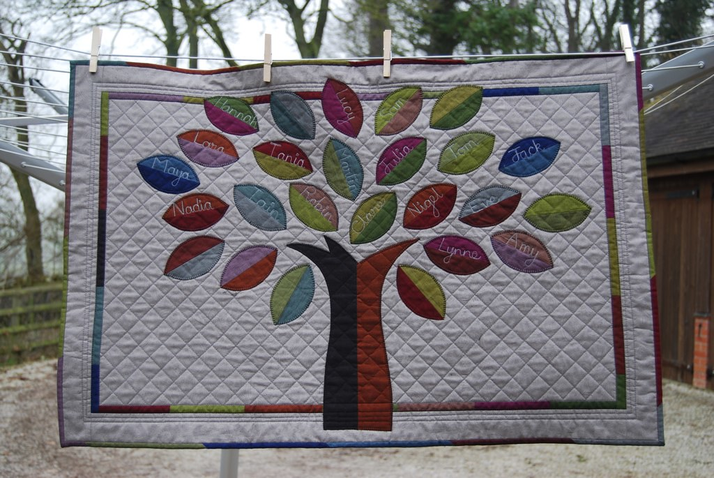 Family Tree Quilt For My Mum My Mum Asked For A Family