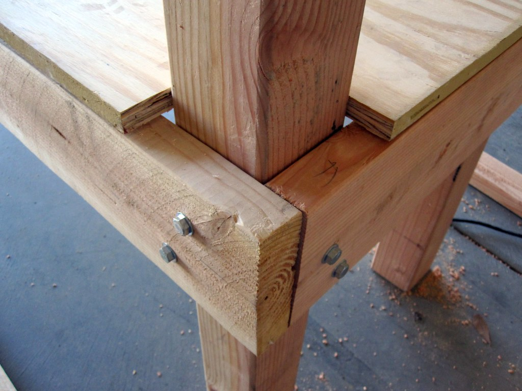 How To Build A Kitchen Island Table