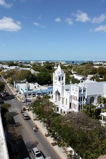 Key West_Duval overhead | by katiegf