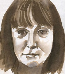 Maureen for Julia Kay's Portrait Party by 1001drawings
