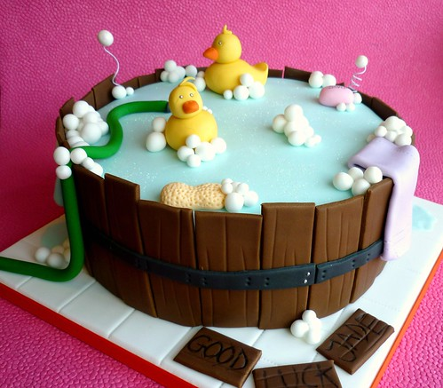Barrel Baby Shower Cake Flickr Photo Sharing