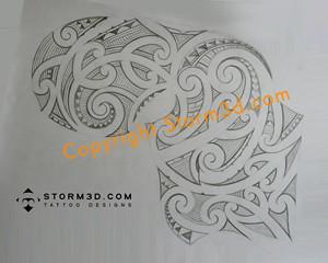 drawings maori tattoo designs mark storm flickr. Black Bedroom Furniture Sets. Home Design Ideas