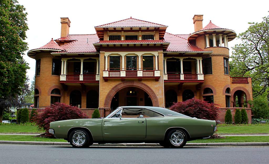 1968 Dodge Charger R/T - Justification For A Higher Educat ...