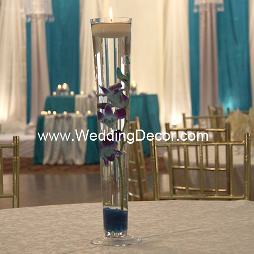 Wedding Centerpieces Blue Dendrobium Orchids A Wedding