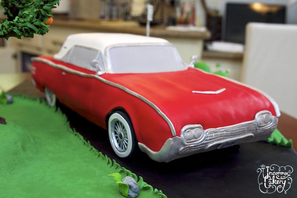 Thunderbird Cake