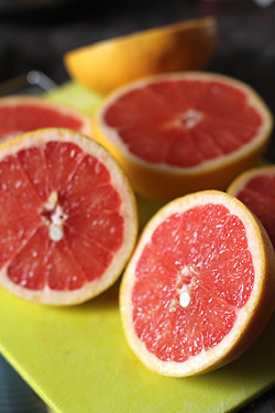 pink grapefruits | by David Lebovitz