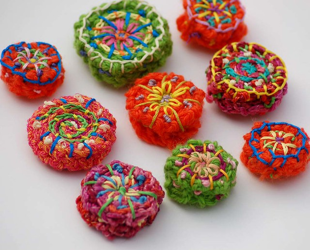 knitted beads Flickr - Photo Sharing!