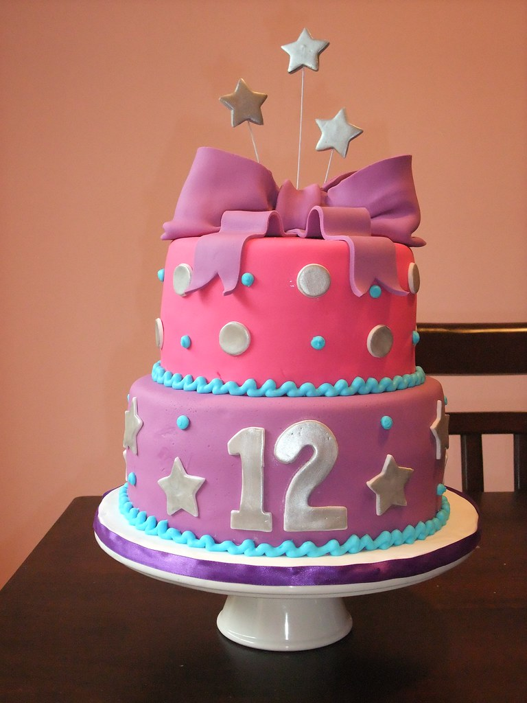 Picture Of A Bday Cake For Ruby