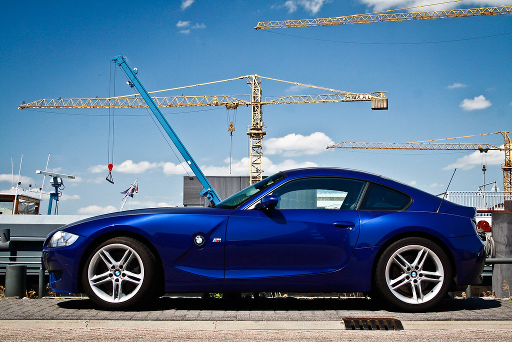 Blue Bmw Z4 M Coup 233 Nice Car I Like This Bmw I Can T