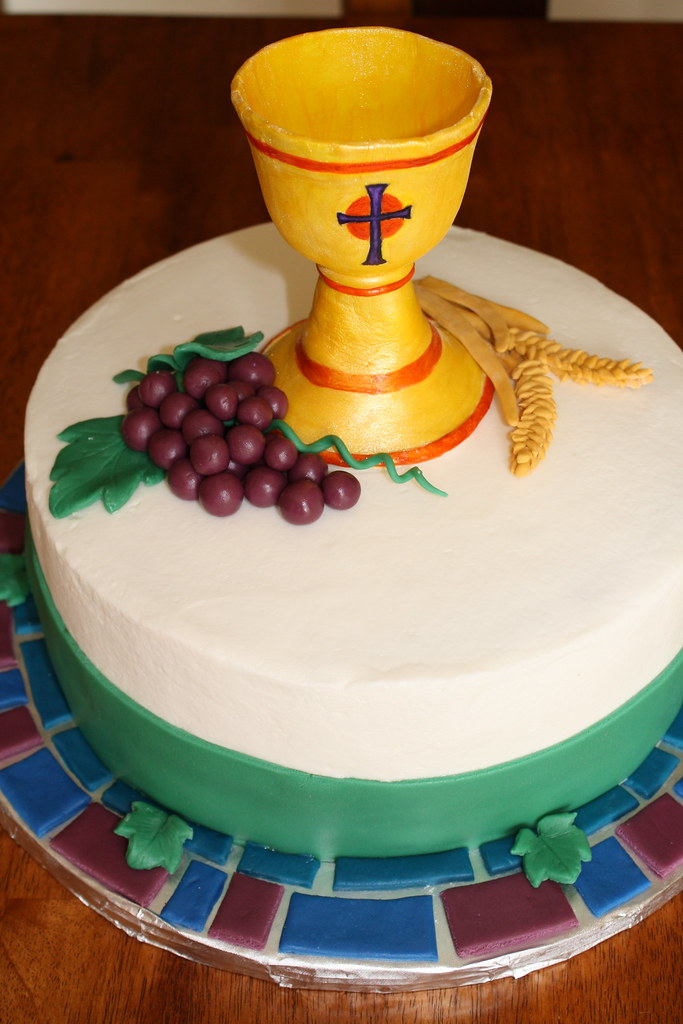 how to make chalice from fondant