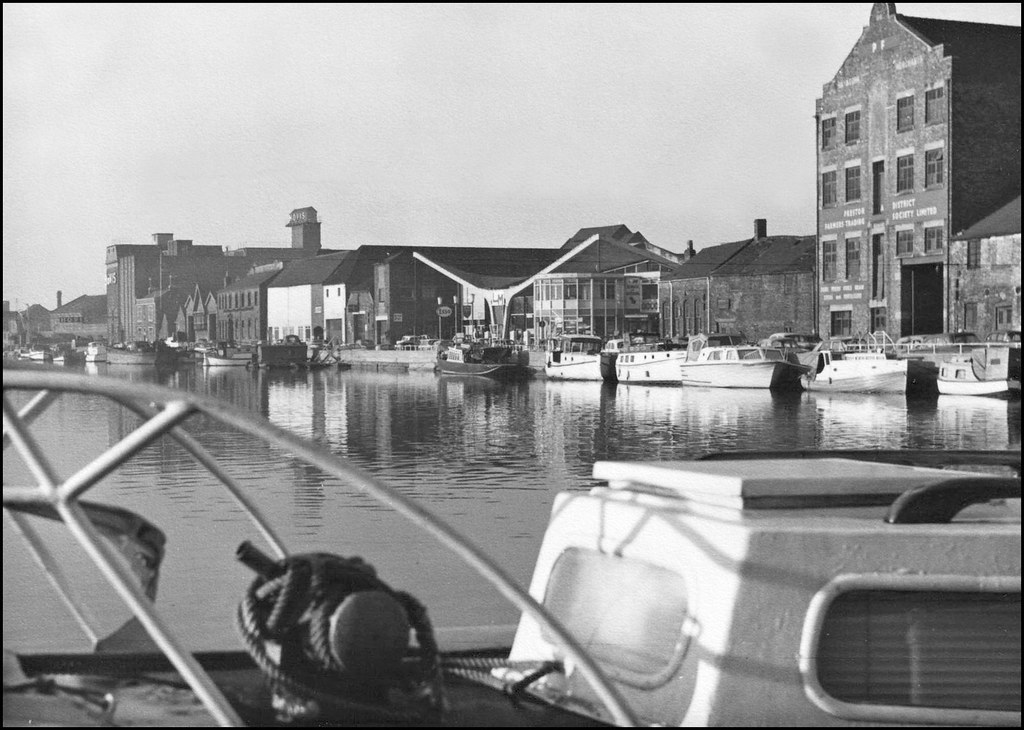 Brayford Wharf Lincoln 1966 There Have Been Many
