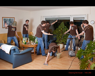 100/365 Cleaning the house | by Maarten Takens